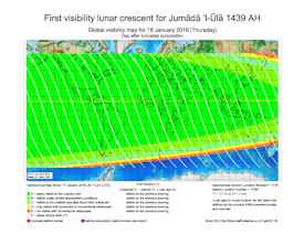 Visibility Map for Jumada Al-Ula 1439 AH (b)